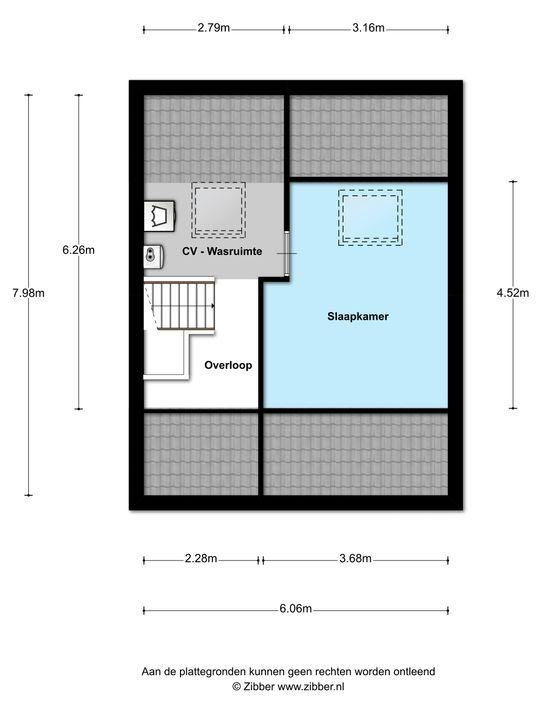 Antonie Genietsplein 8, Nieuw-Beijerland plattegrond-28