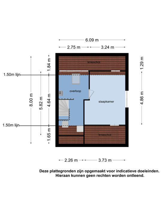 Oranjestraat 9, Piershil plattegrond-27