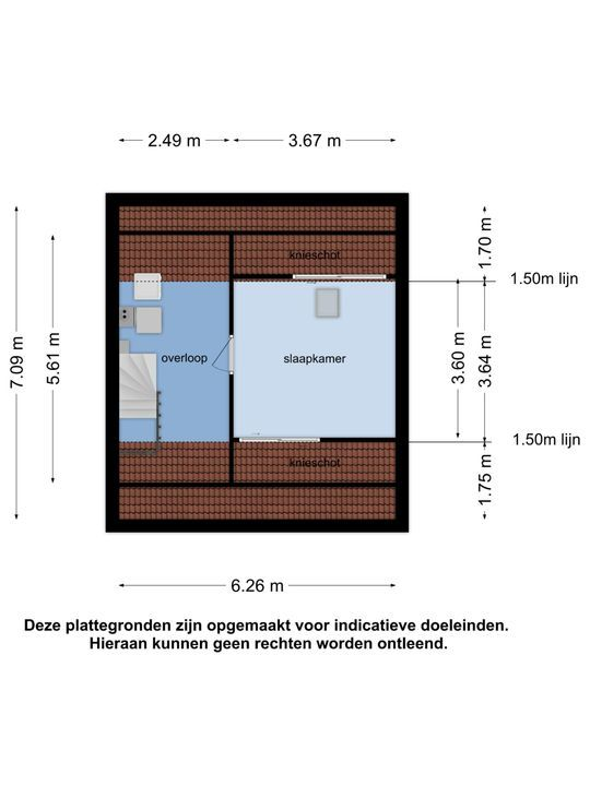 Irenestraat 11, Nieuw-Beijerland plattegrond-20