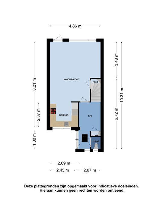 Harmonie 29, Klaaswaal plattegrond-35
