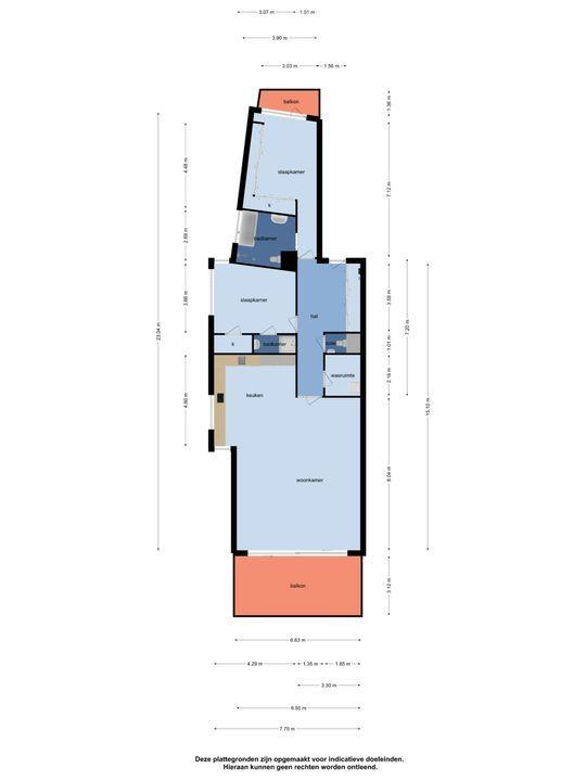 Scheepswerf 208, Nieuw-Beijerland plattegrond-36