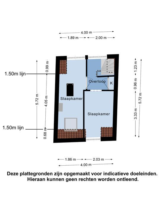 Prins Bernhardstraat 129, Oud-Beijerland plattegrond-27