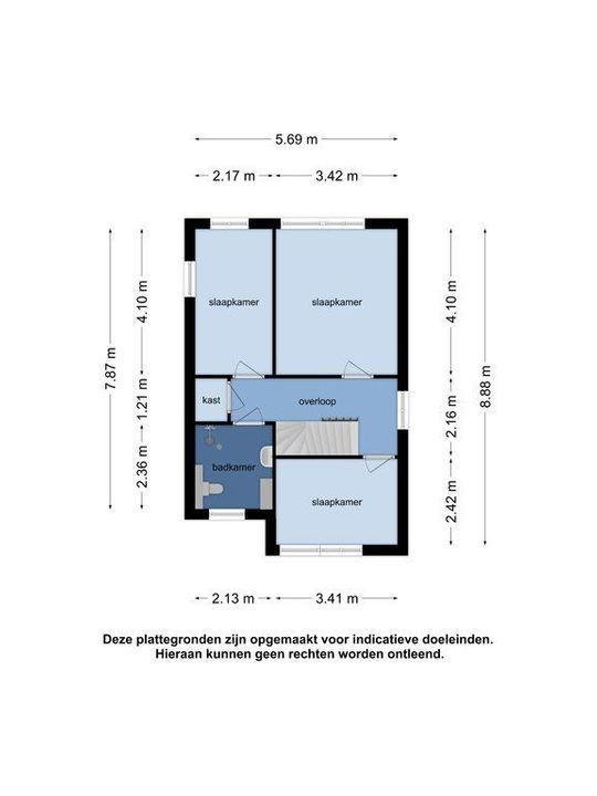 Kloosring 23, Oud-Beijerland plattegrond-31