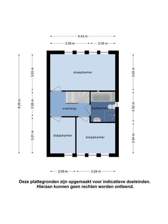Klarinet 72, Oud-Beijerland plattegrond-29