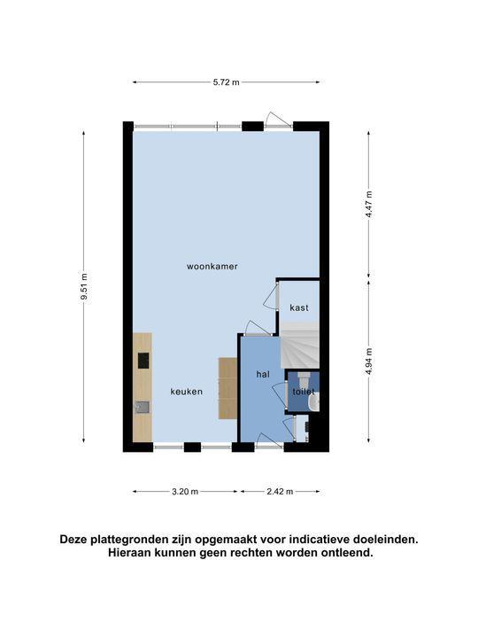 Waterhoen 5, Piershil plattegrond-21