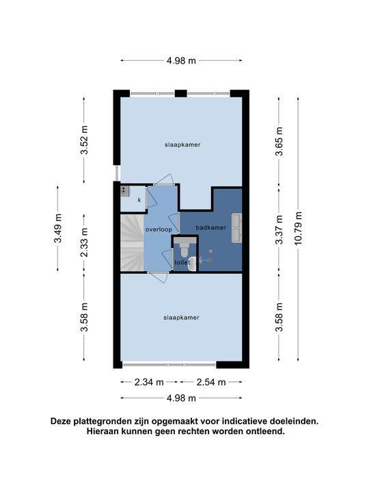 Mendelssohnstraat 10, Oud-Beijerland plattegrond-42