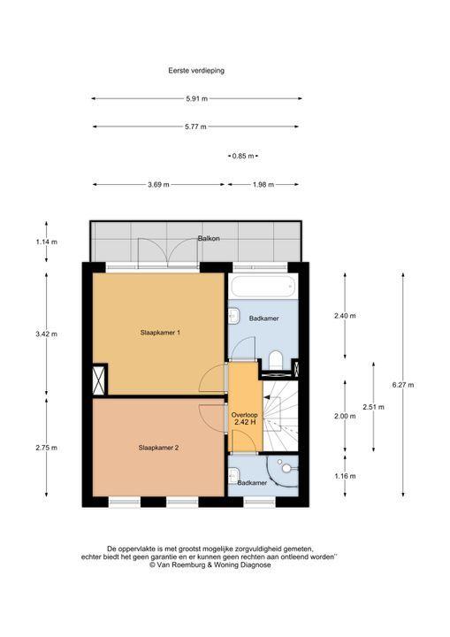 Fresialaan 13, Bennebroek plattegrond-15