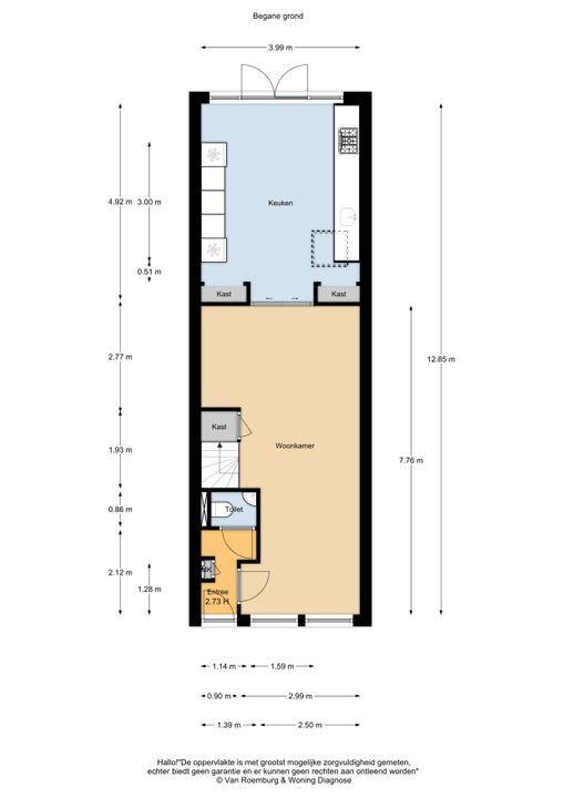 De Clercqstraat 162, Haarlem plattegrond-23