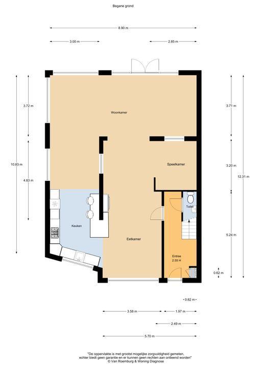 Ligusterlaan 27, Haarlem plattegrond-25