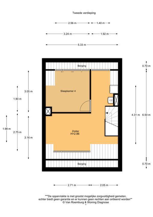 Meeuwenstraat 60, Haarlem plattegrond-17