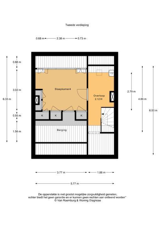 Van Diemenlaan 9, Haarlem plattegrond-25