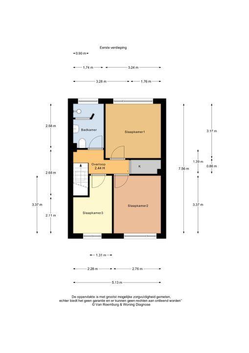 Ben Viljoenstraat 46, Haarlem plattegrond-18
