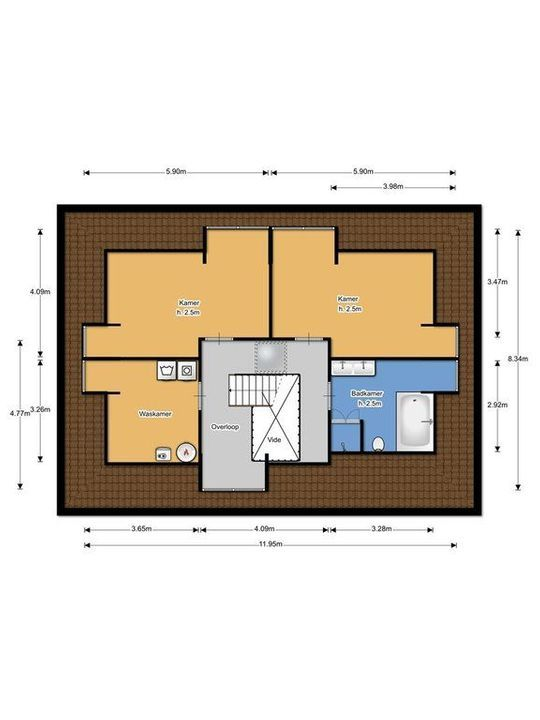 Gravin Machteldlaan 7, Den Haag plattegrond-44