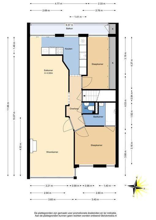 Heelsumstraat 67, Den Haag plattegrond-26
