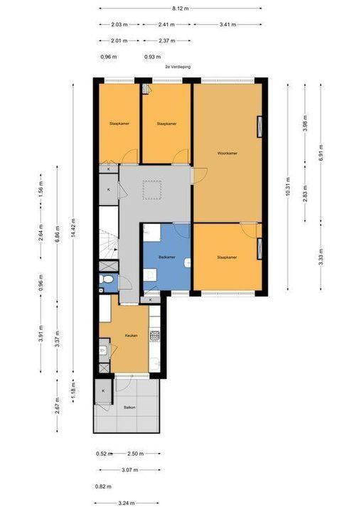Goudenregenstraat 43, Den Haag plattegrond-24