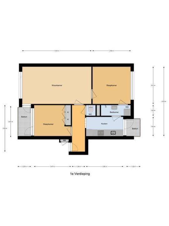 Brahmslaan 81, Leiden plattegrond-30