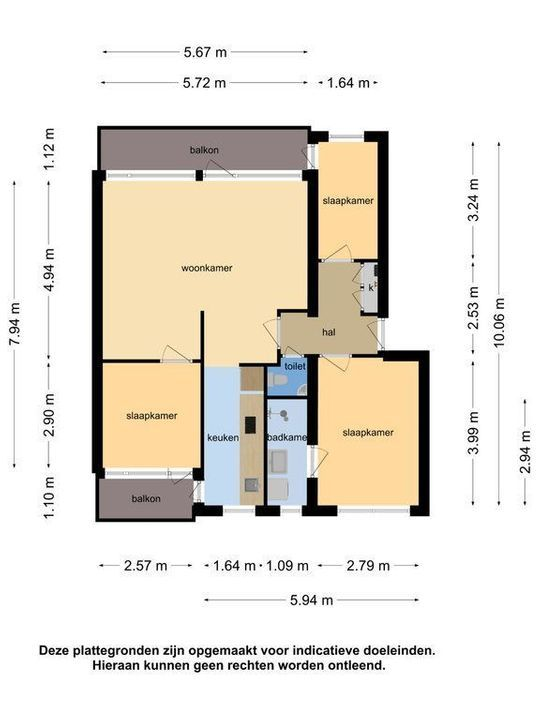 Brahmslaan 269, Leiden plattegrond-36