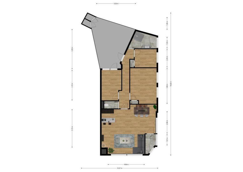 Appelstraat 157, Den Haag plattegrond-28