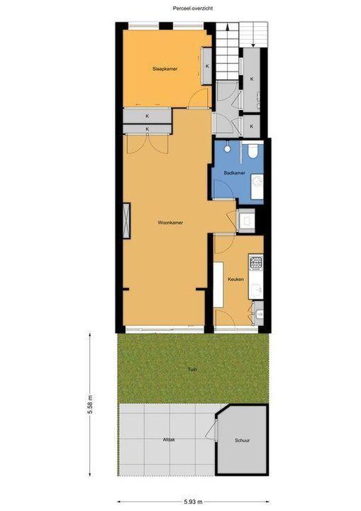 Renbaanstraat 86 a, Den Haag plattegrond-21