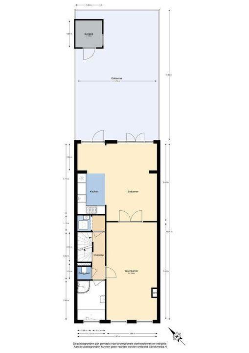 Heeswijkstraat 23, Voorburg plattegrond-43