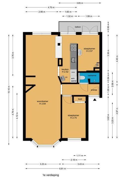 Vlierboomstraat 318, Den Haag plattegrond-35