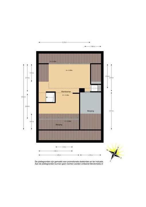 Laan van Meerdervoort 979, Den Haag plattegrond-35