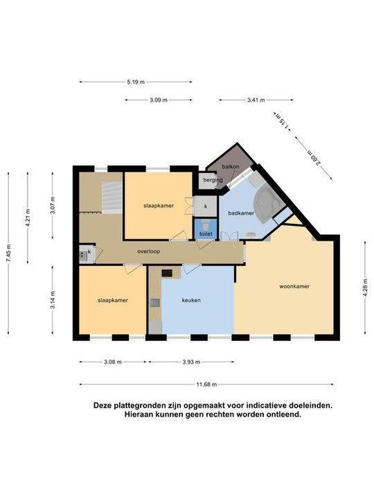 Voorthuizenstraat 223, Den Haag plattegrond-34