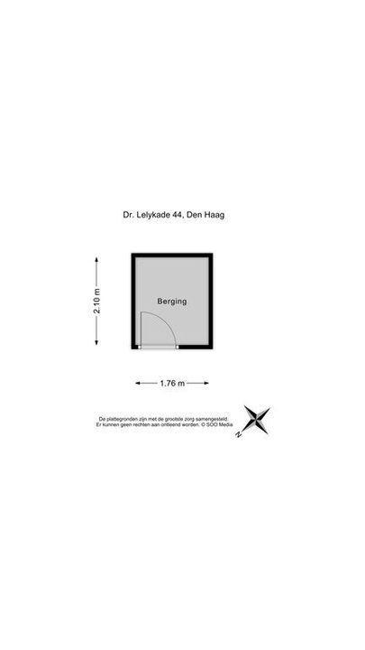 Dr. Lelykade 44, Den Haag plattegrond-33