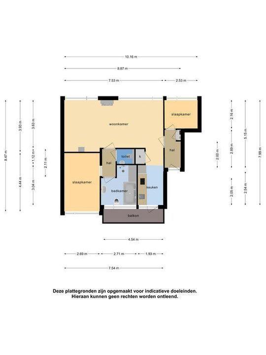 Mozartstraat 53, Leiden plattegrond-40