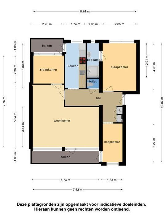 Brahmslaan 275, Leiden plattegrond-44