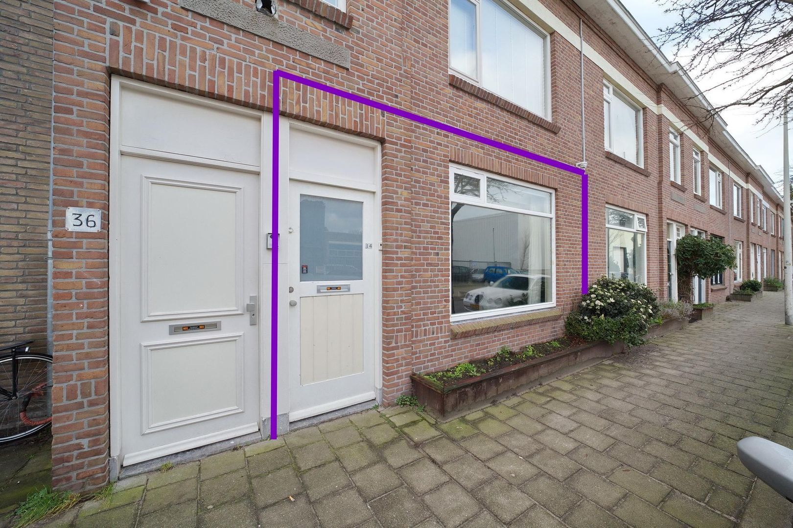 Burgemeester van der Veldestraat 34, Den Haag foto-22 blur