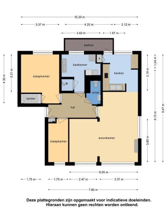 Eduard van Beinumstraat 33, Leiden plattegrond-41