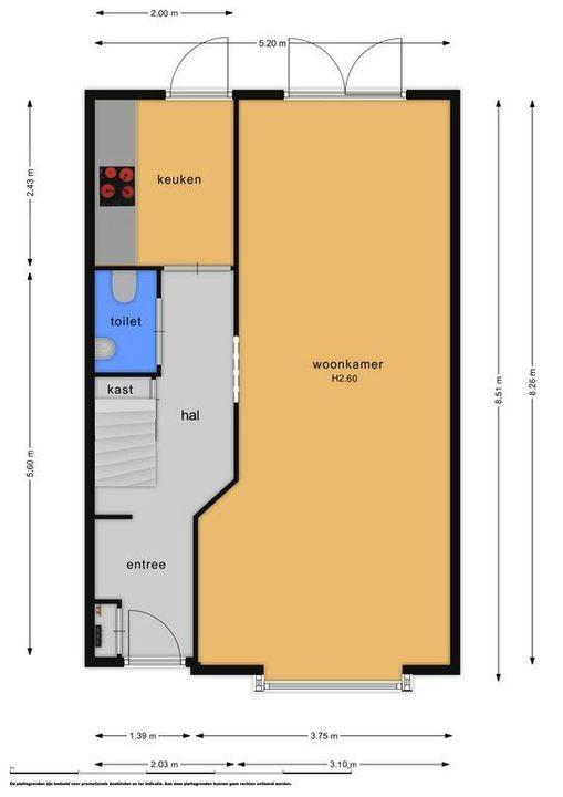 Wormerveerstraat 134, Den Haag plattegrond-29