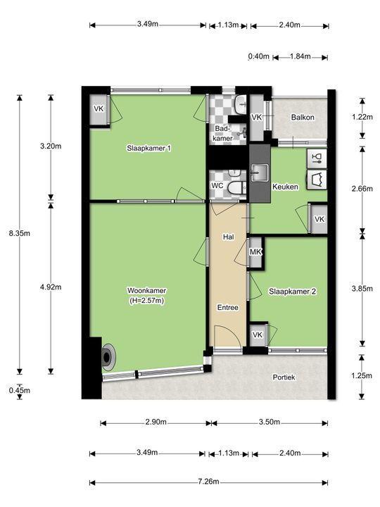 Joubertstraat 167, Gouda plattegrond-24