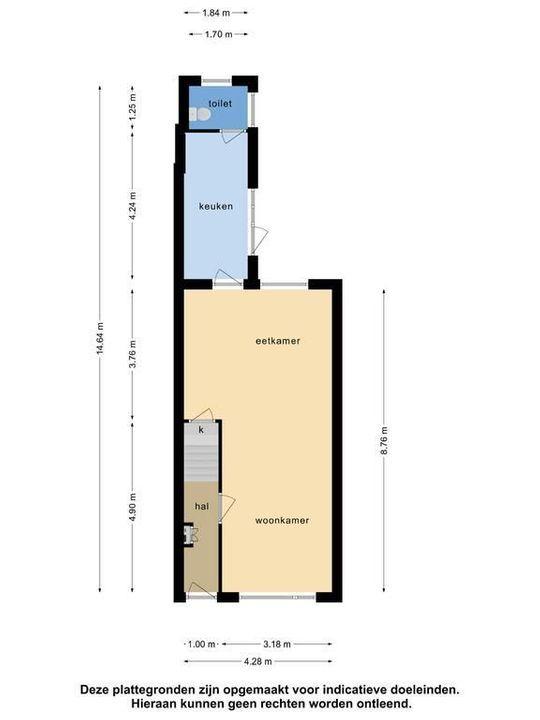Herenstraat 101, Leiden plattegrond-33