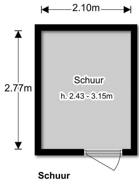 Prins Bernhardlaan 25, Voorburg plattegrond-28