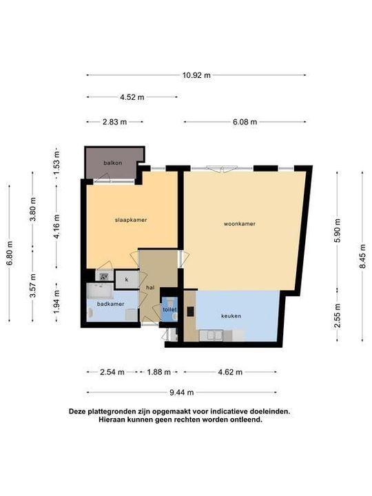 Touwslagersgang 16, Leiden plattegrond-39