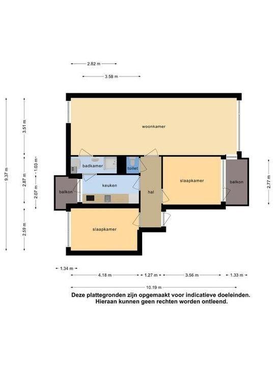 Mahlerstraat 38, Leiden plattegrond-38