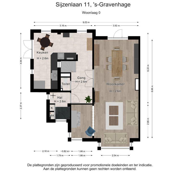 Sijzenlaan 11, Den Haag plattegrond-42