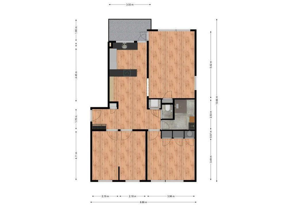 Rozeveldlaan 4, Wassenaar plattegrond-34