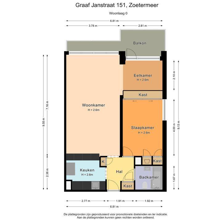 Graaf Janstraat 151, Zoetermeer plattegrond-32