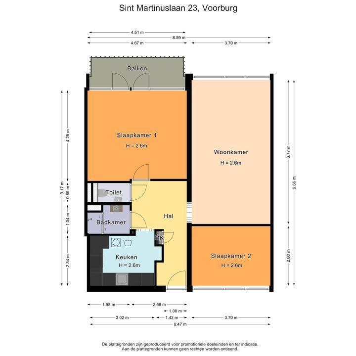 Sint Martinuslaan 23, Voorburg plattegrond-28