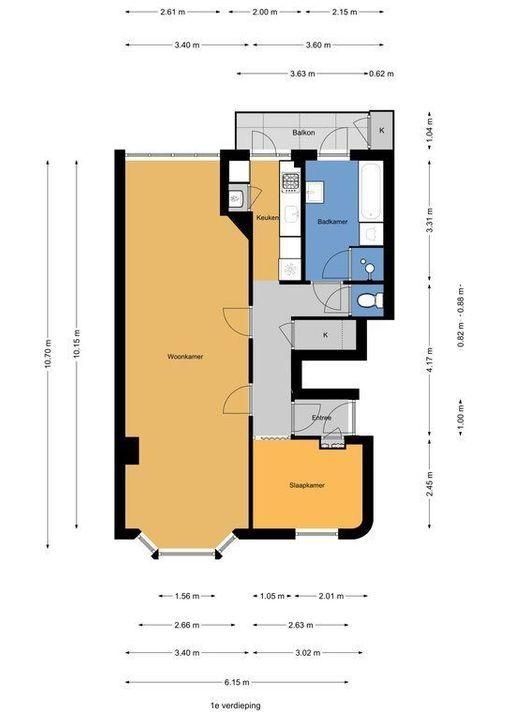 van de Wateringelaan 143, Voorburg plattegrond-24