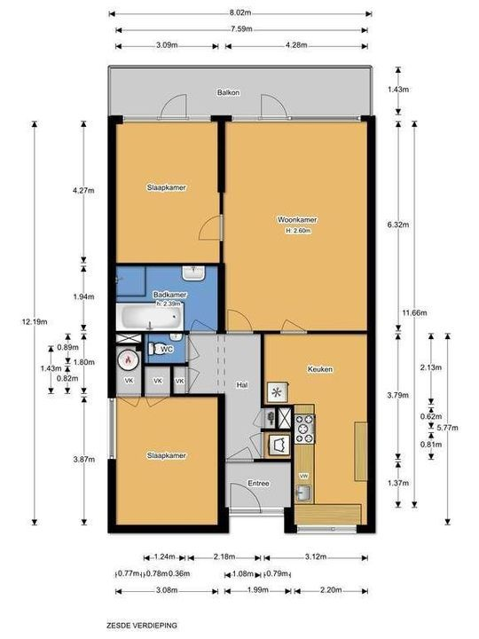 Granaathorst 301, Den Haag plattegrond-22