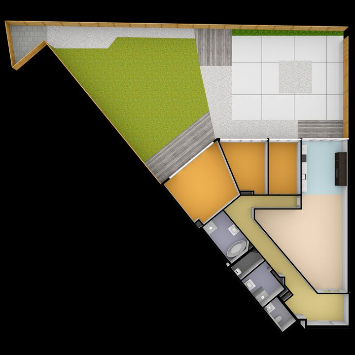 Okkernootstraat 70, Den Haag plattegrond-32