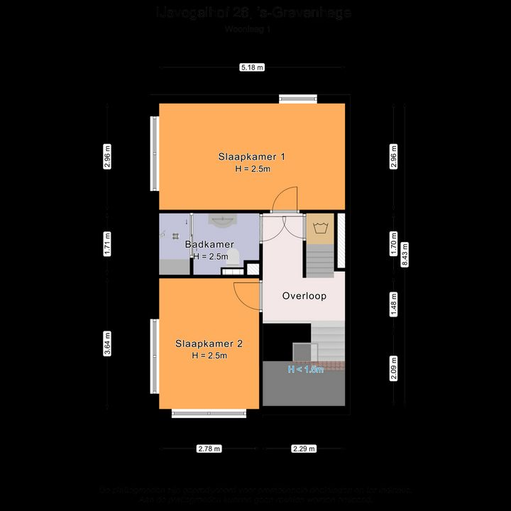 IJsvogelhof 26, Den Haag plattegrond-23