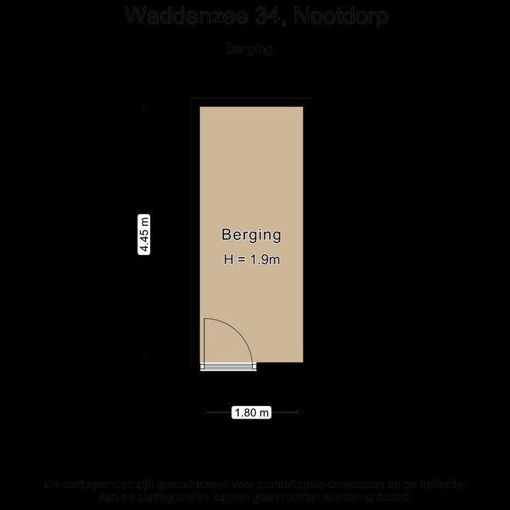 Waddenzee 34, Nootdorp plattegrond-49