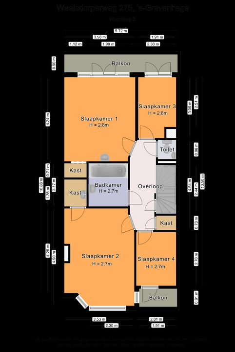 Waalsdorperweg 275, Den Haag plattegrond-69