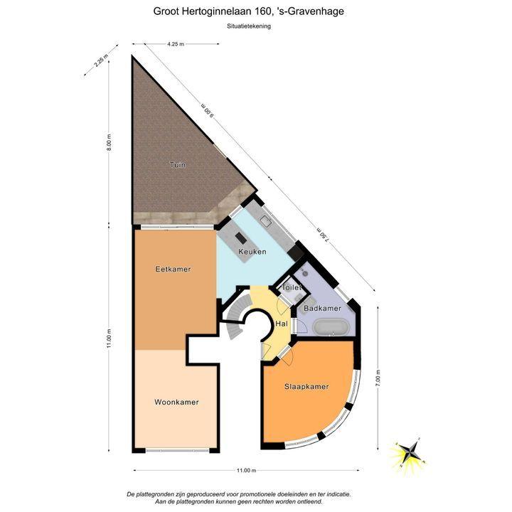 Groot Hertoginnelaan 160, Den Haag plattegrond-43