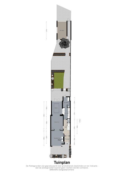 Potgieterstraat 34, Eindhoven plattegrond-